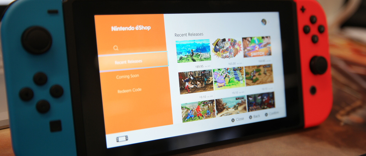 eShop do Nintendo Switch permite agora pesquisar jogos com Demo