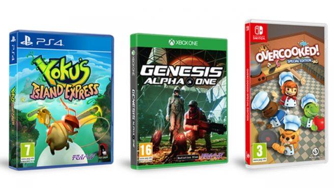 Overcooked: Special Edition, Worms W.M.D. e Yoku's Island Express serão lançados em mídia física para Switch