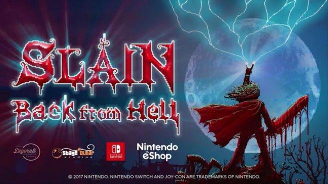 Futuro jogo de Switch, Slain: Back From Hell ganha data de lançamento