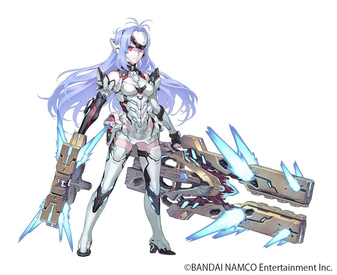 KOS-MOS Re: de Xenosaga estará presente em Xenoblade Chronicles 2