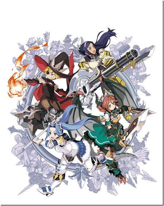 Your Four Knight Princess Training Story tem seu lançamento adiado para Março de 2018 no Japão