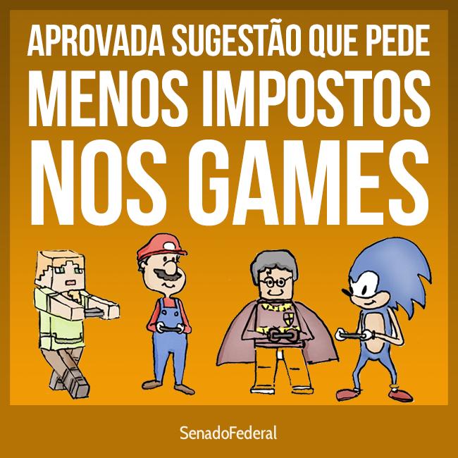 PEC que reduz impostos sobre jogos eletrônicos ganha andamento; confira
