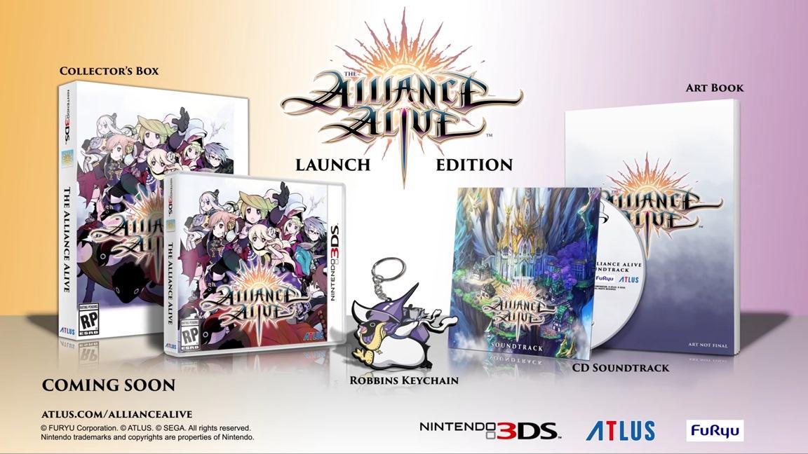 Futuro jogo de Nintendo 3DS, The Alliance Alive, chega em Março de 2018 na América do Norte e Europa