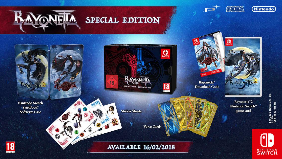Bayonetta 2  para Switch ganha edição especial no Japão e na Europa