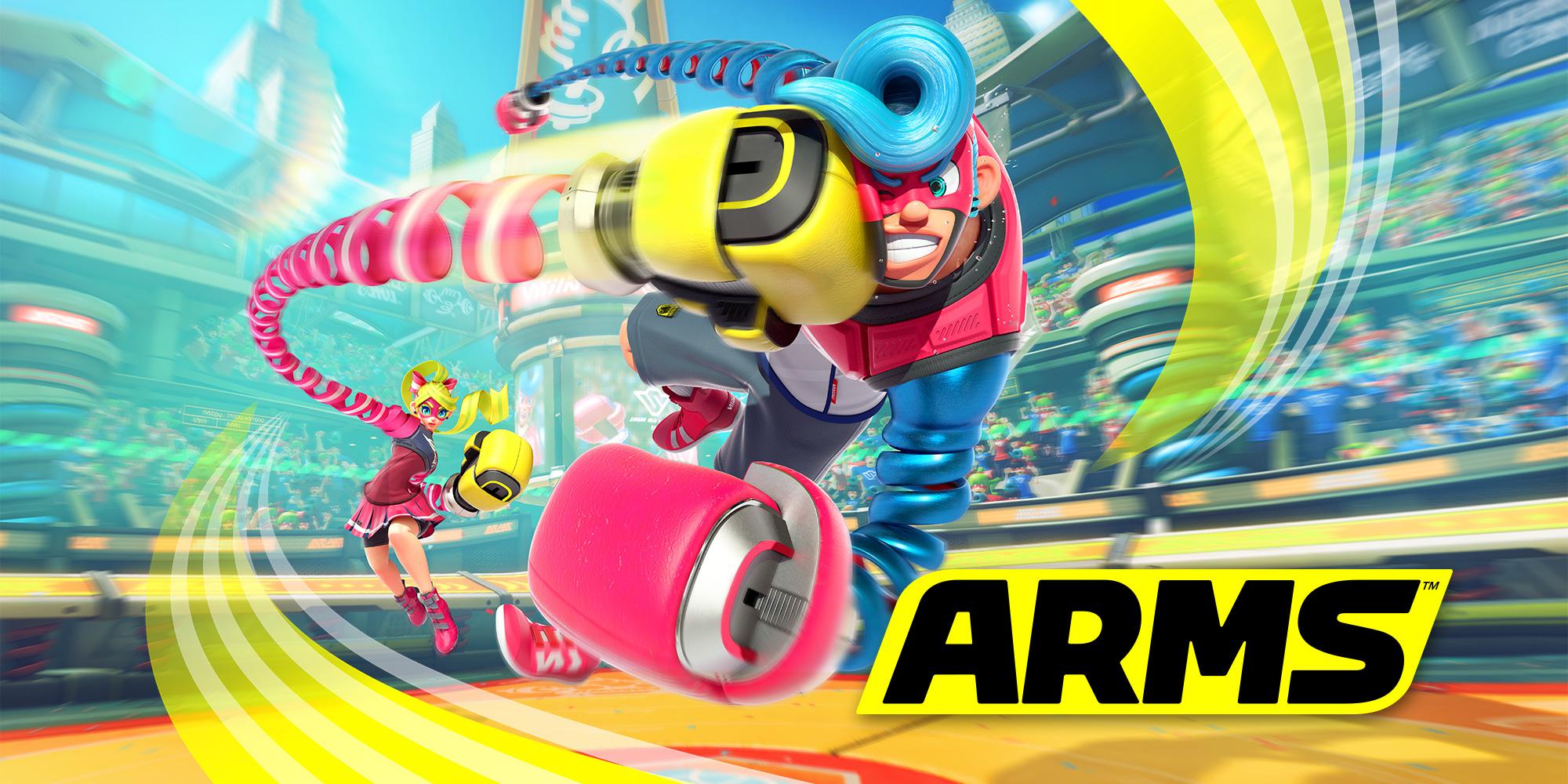 Nintendo diz que ARMS não terá mais atualizações após a versão 5.0