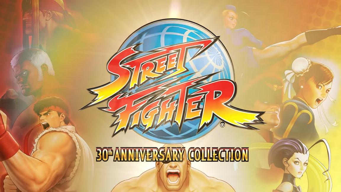 Capcom anuncia Street Fighter 30th Anniversary Collection para o Nintendo Switch