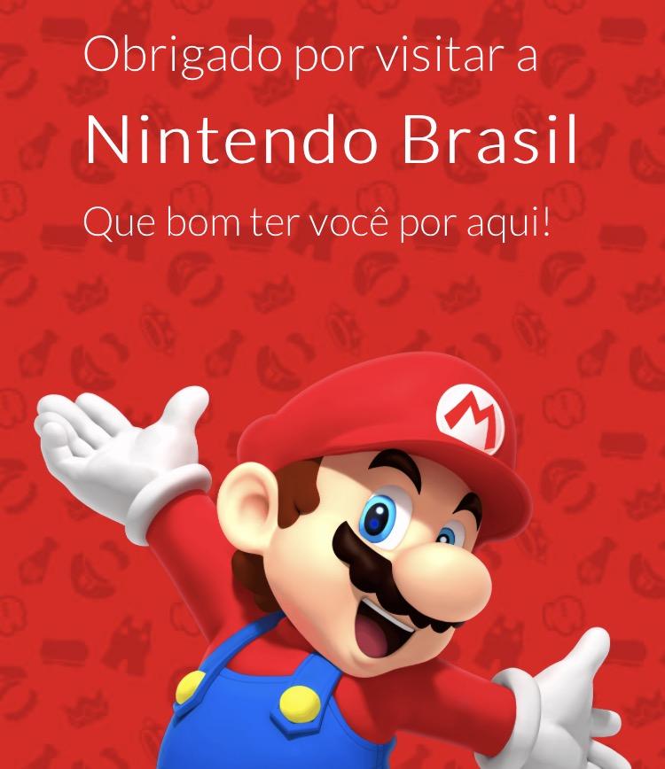 Em silêncio, Nintendo começa sua volta ao Brasil