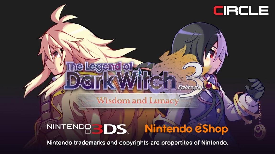 Tamanho do download de The Legend of Dark Witch 3 para 3DS