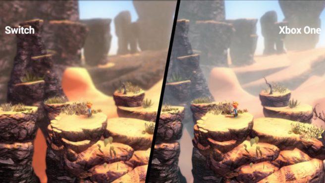 Max: The Curse of Brotherhood – comparação entre as versões de Switch e Xbox One