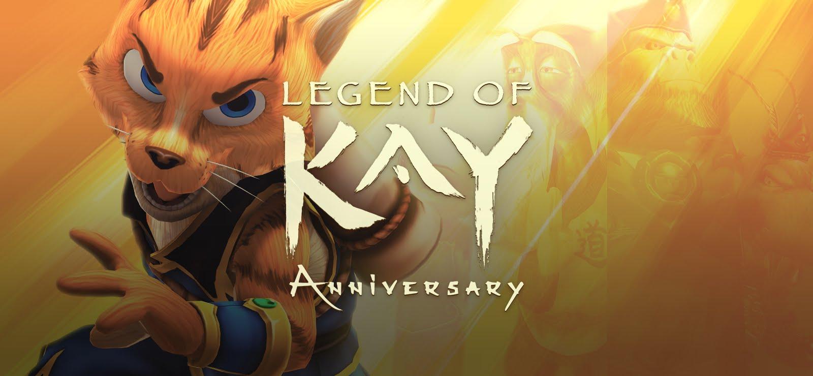 Legend of Kay: Anniversary pode está chegando ao Switch