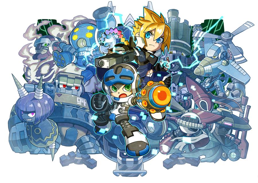 Mighty Gunvolt Burst – Copen, Kurona e Ray chegarão ao jogo via DLC