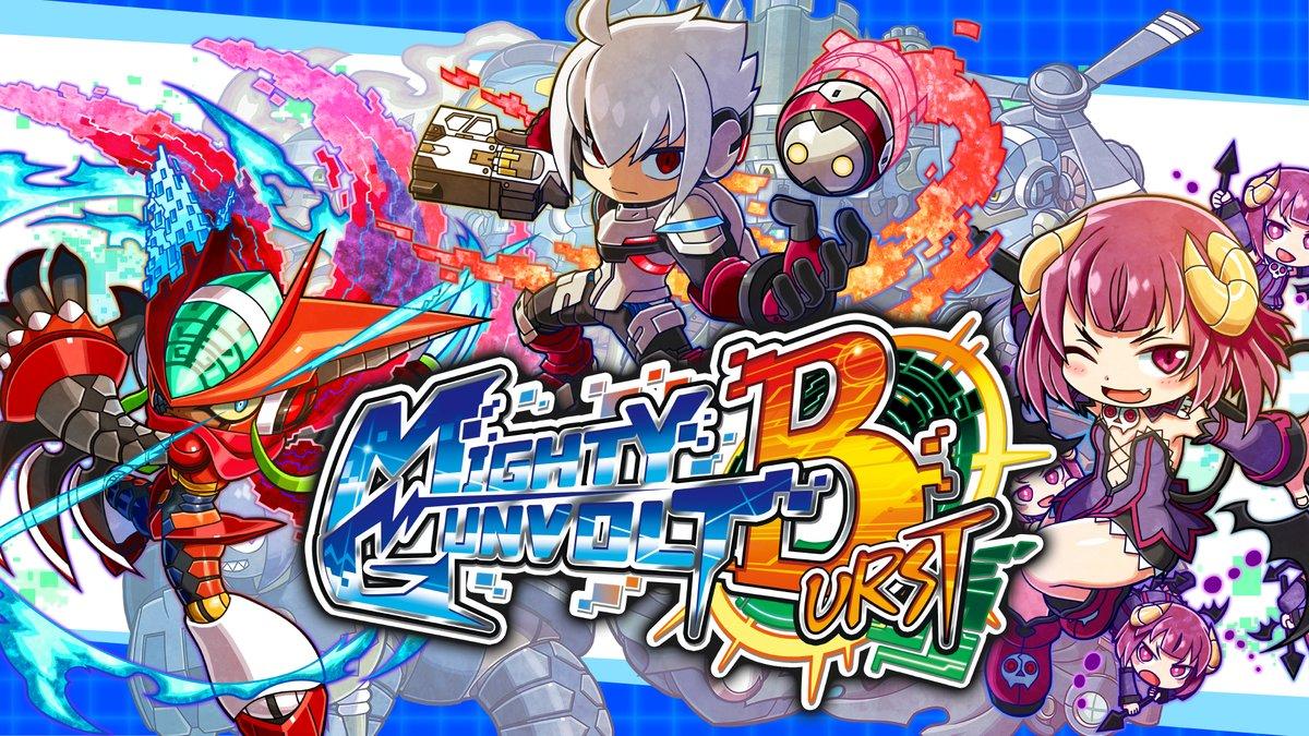 Mighty Gunvolt Burst já teve mais de 80 mil downloads; novos personagens de DLC e uma Demo serão disponibilizadas amanhã