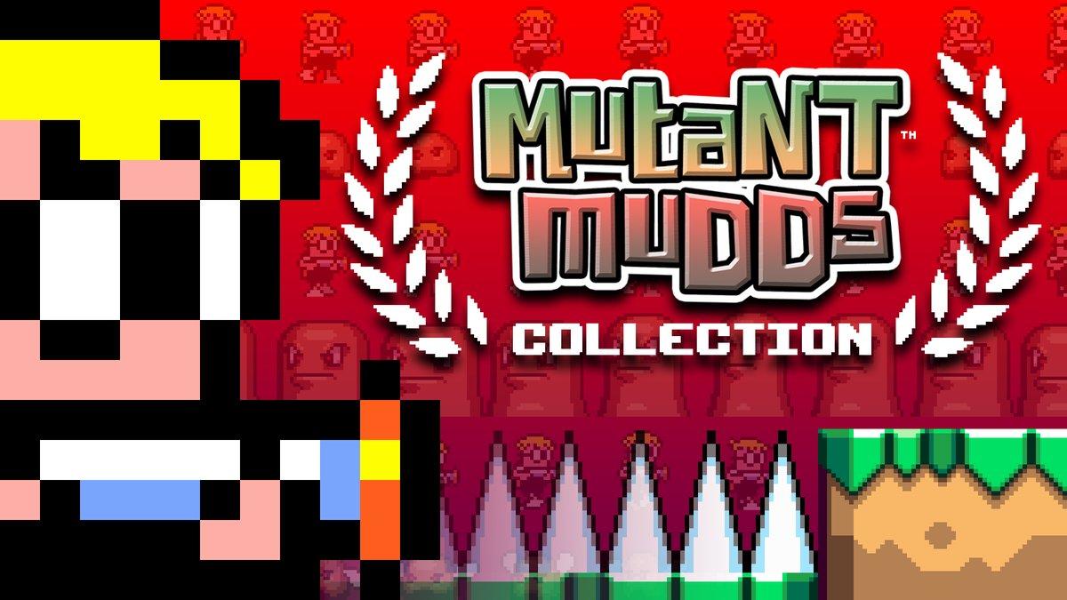 Mutant Muds Collection ganha data de lançamento no Nintendo Switch