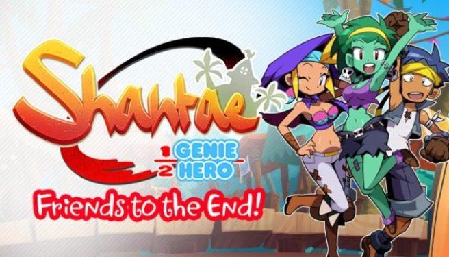 """Expansão """"Friends to the End!"""" para Shantae: Half-Genie Hero chega na próxima semana na América do Norte"""
