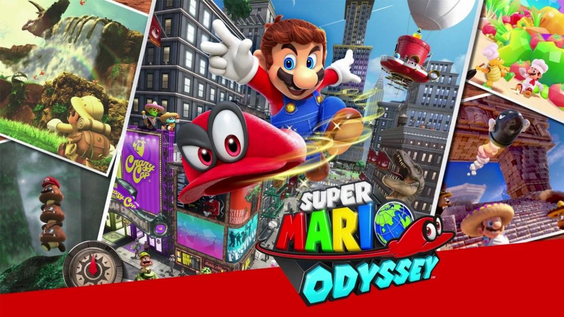 Vendas de Super Mario Odyssey ultrapassaram 1 milhão de unidades no Japão