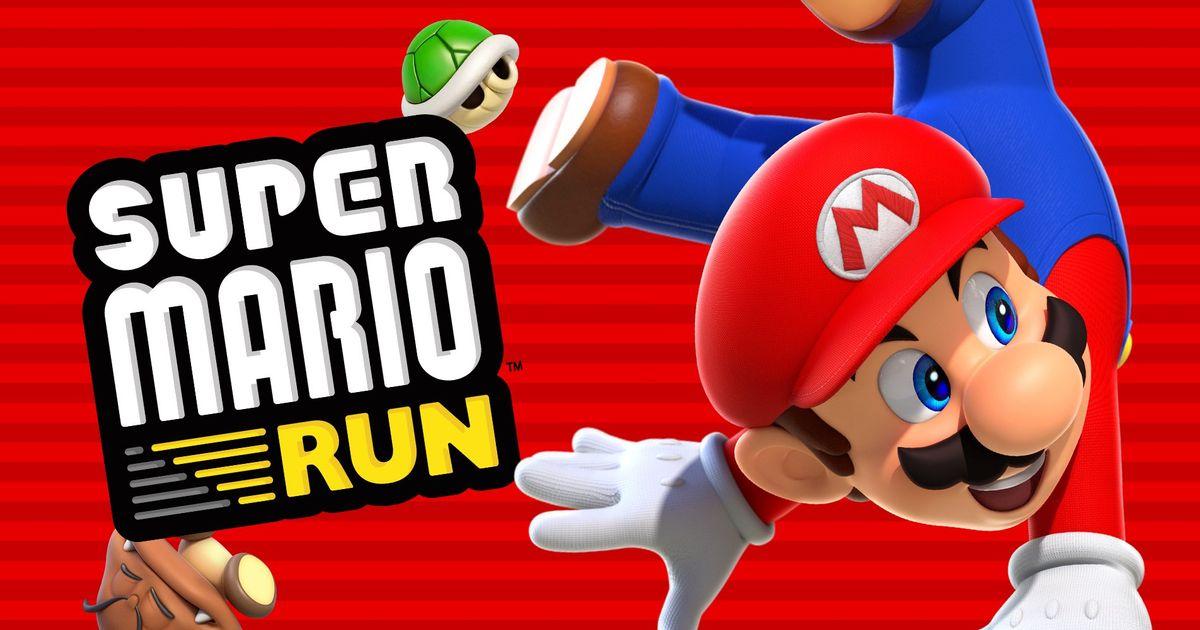 Super Mario Run foi o novo jogo mais baixado do ano na Google Play