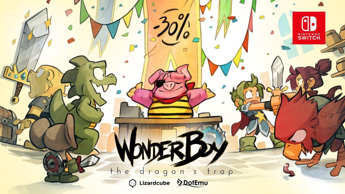 Wonder Boy: The Dragon's Trap recebe novo Patch onde adiciona a função de captura de vídeo