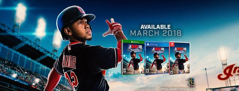 MLB AM anuncia R.B.I. Baseball 18 para o Nintendo Switch