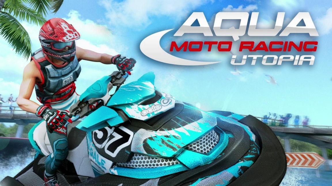 Aqua Moto Racing Utopia chega em Fevereiro na América do Norte, jogo será vendido em mídia física e digital
