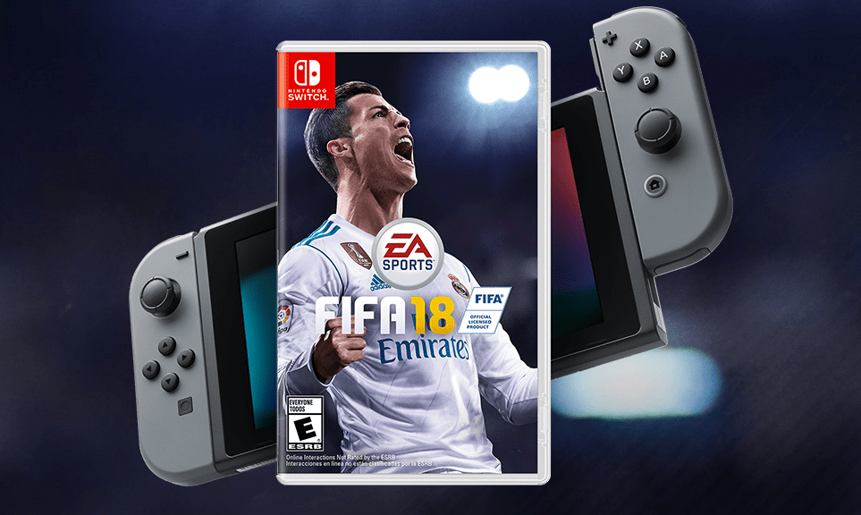 FIFA 18 para Nintendo Switch oficialmente ultrapassou as vendas da versão de PS4 no Japão; tabela de vendas