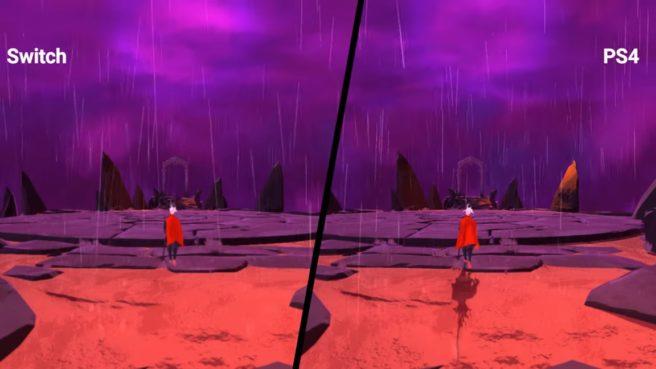 Vídeo compara versões de Furi entre Switch e PS4