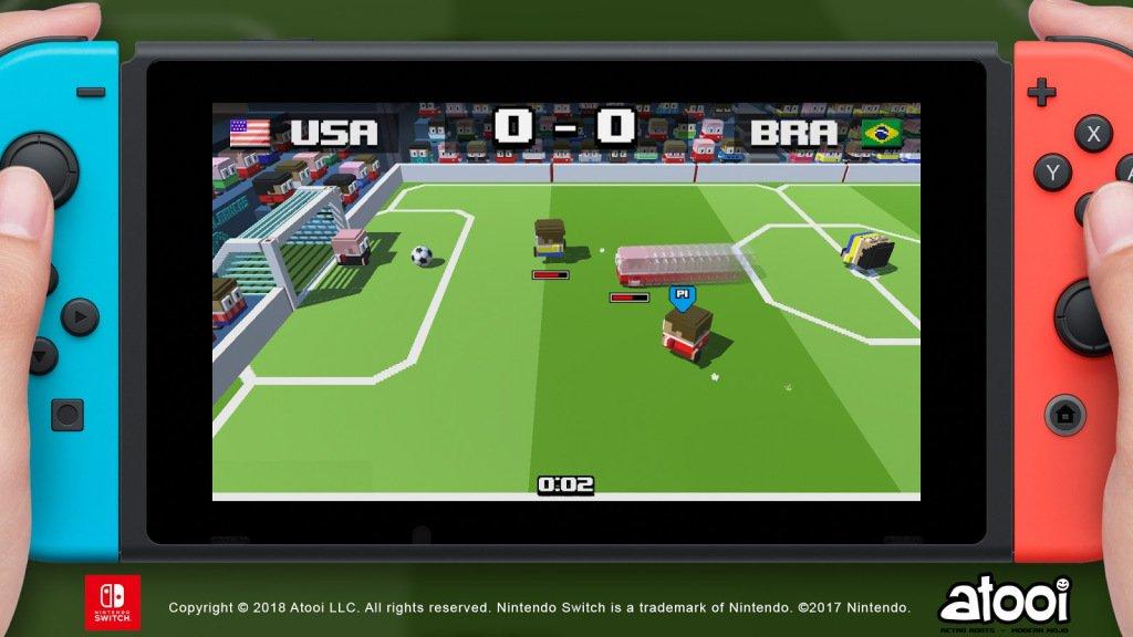 Atooi anuncia Soccer Slammers para o Nintendo Switch