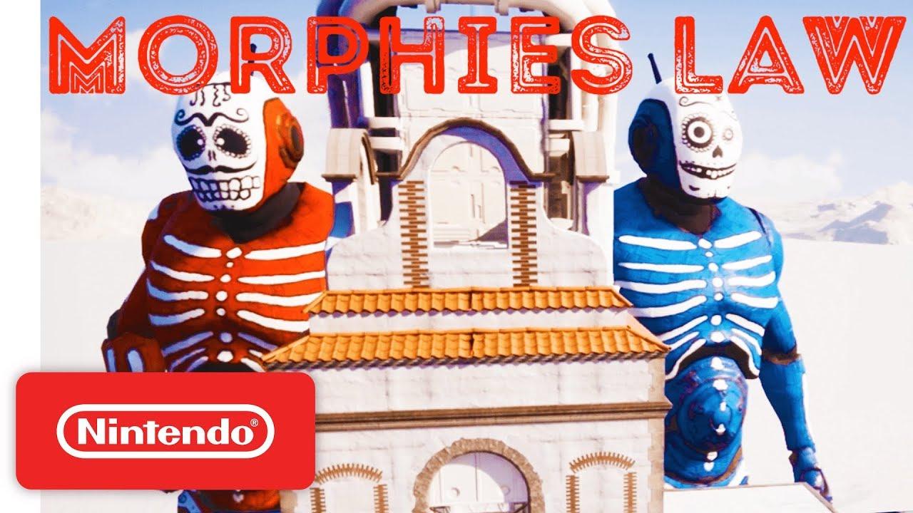 Morphies Law sofre adiamento no Nintendo Switch, jogo recebe nova janela de lançamento