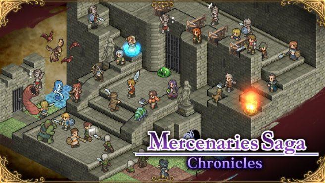 Futuro jogo de Switch, Mercenaries Saga Chronicles ganha data de lançamento no ocidente