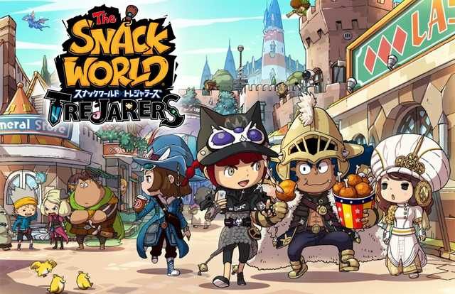 Level-5 irá fazer um port de The Snack World: Trajarers para o Nintendo Switch