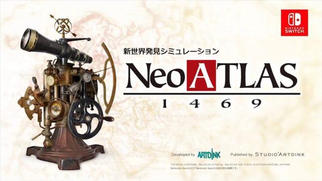 [Switch] Neo Atlas 1469 ganha anúncio e data de lançamento no Japão
