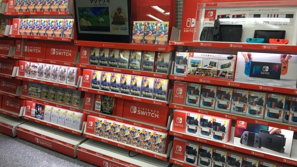 Diversos jogos de Switch estão sem estoque nas lojas do Japão