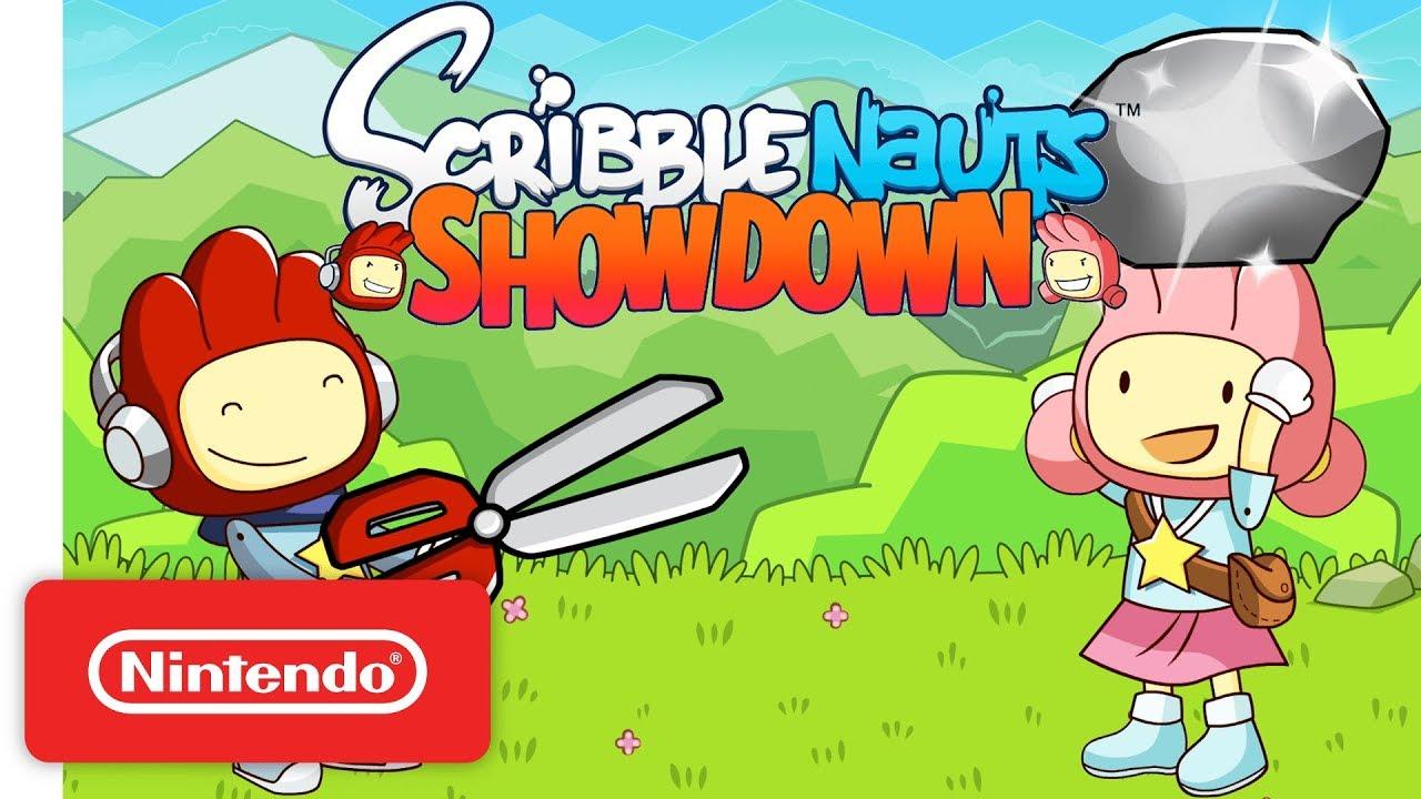 (Atualizado) Scribblenauts Showdown é oficialmente anunciado para o Nintendo Switch