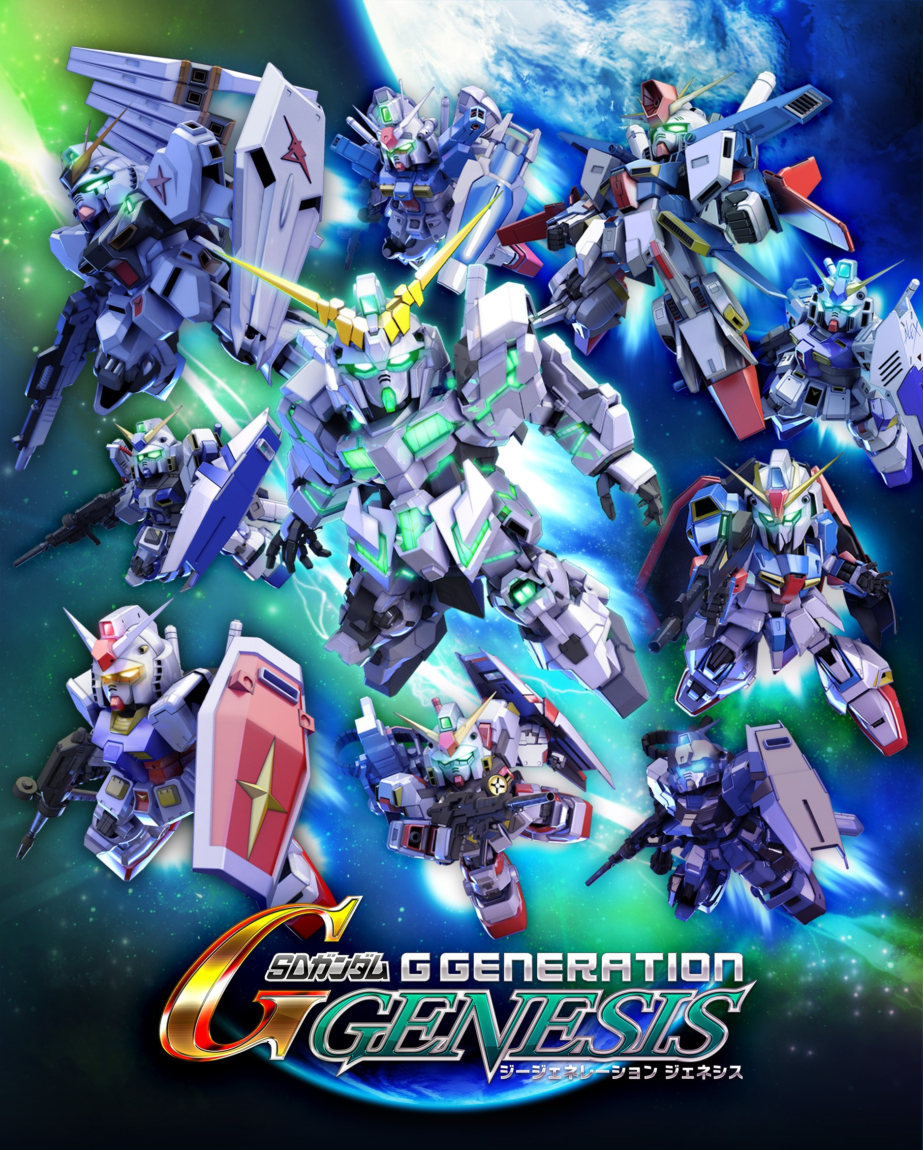 Bandai Namco anuncia SD Gundam G Generation Genesis para o Nintendo Switch
