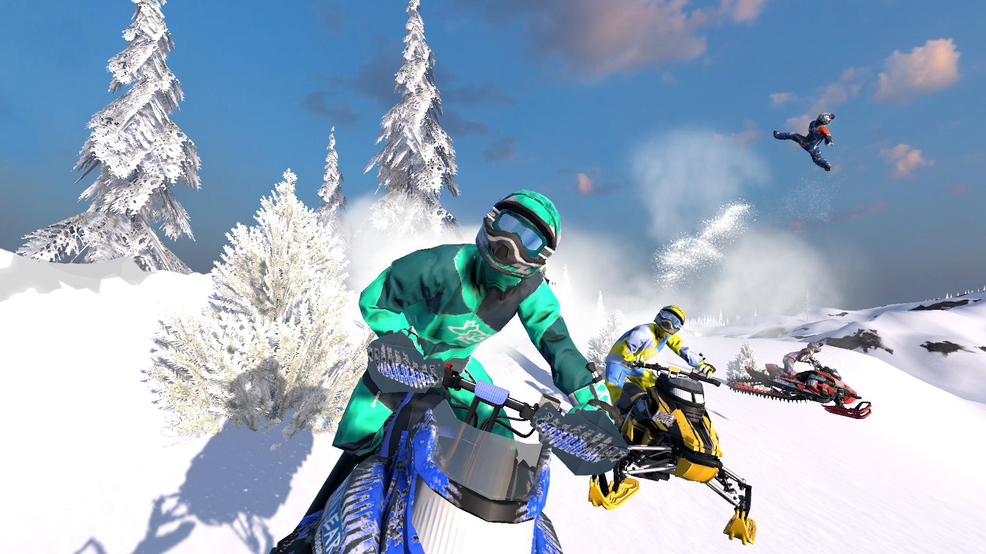 Bigben Interactive irá lançar Snow Moto Racing Freedom na América do Norte