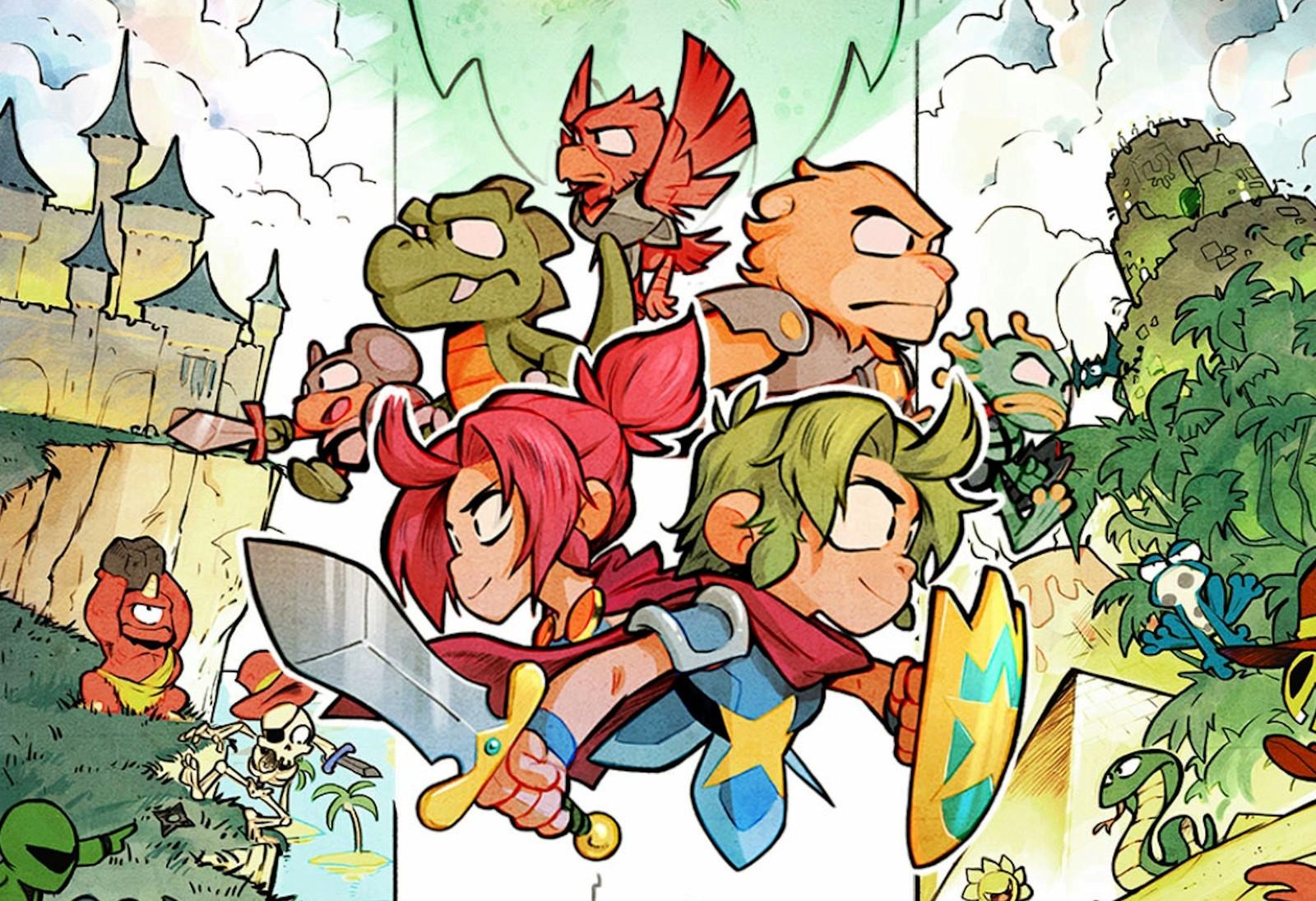 Versão física de Wonder Boy: The Dragon's Trap chega em fevereiro no Nintendo Switch