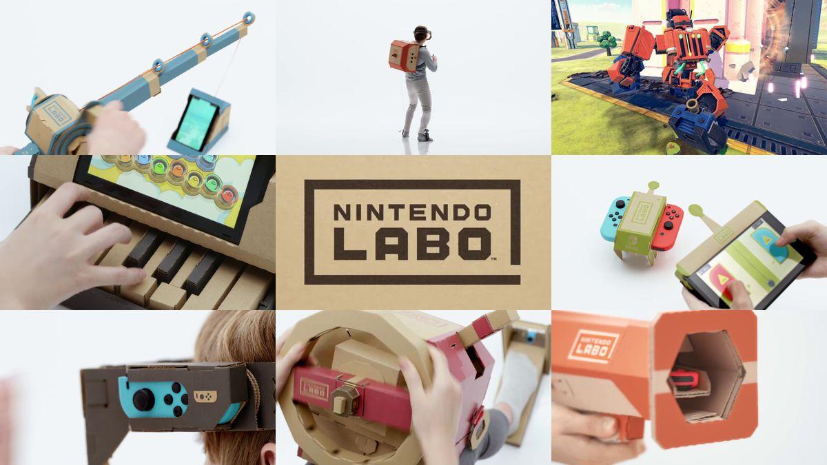 Nintendo Labo – Confira três novos trailers com a introdução e exibição dos Kits