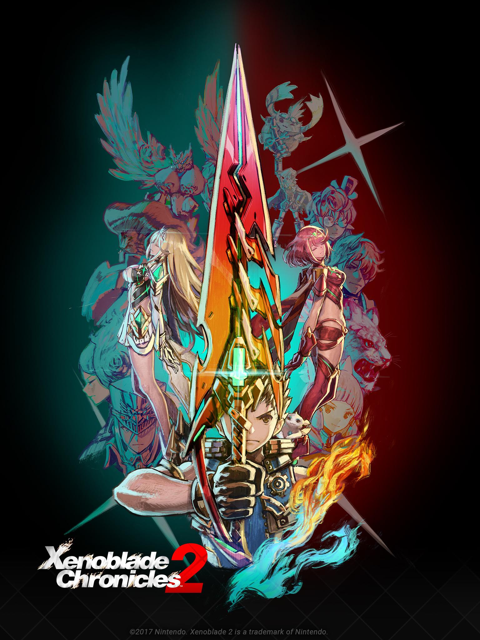 Xenoblade Chronicles 2 ganhará nova atualização onde adiciona o Advanced New Game Mode, Easy Mode, personagens jogáveis e mais