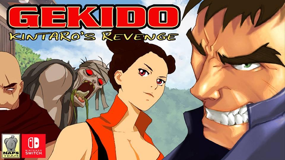 Gekido Kintaro's Revenge chega em Março no Nintendo Switch