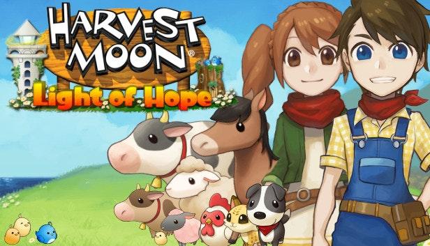 Futuro jogo de Switch, Harvest Moon: Light of Hope terá uma edição especial com bonus para pré venda da loja GameStop; preço; arte da capa