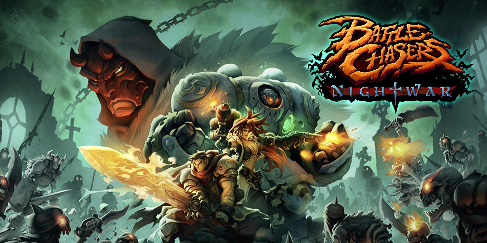 [Switch] Battle Chasers: Nightwar está próximo de ser lançado