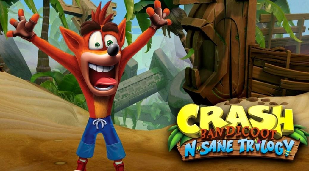 Eurogamer: Crash Bandicoot N'sane Trilogy chegará ao Switch