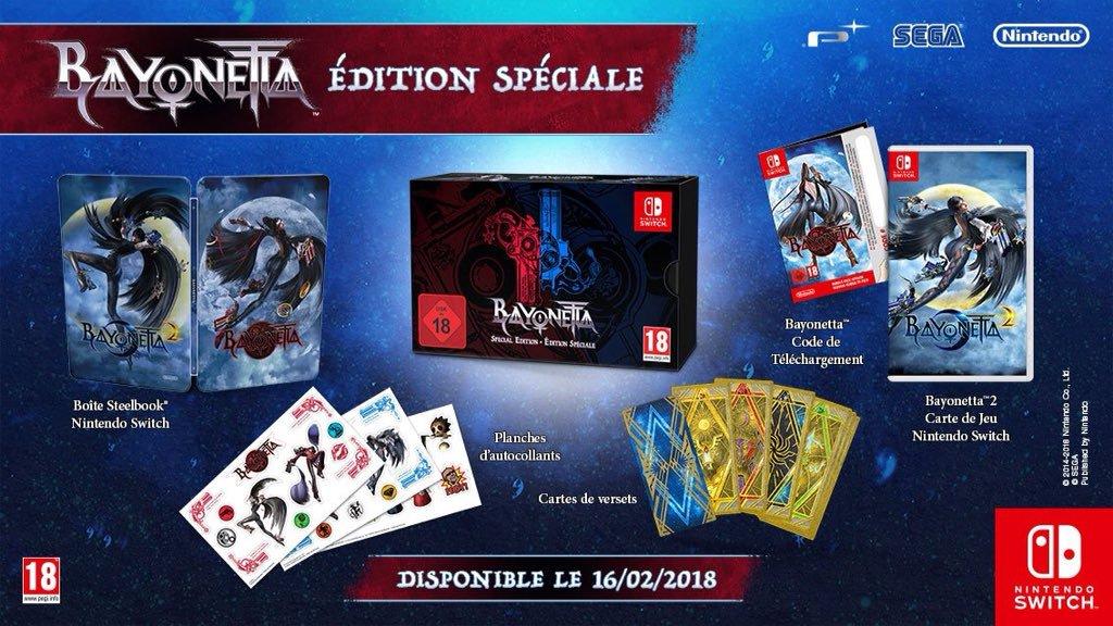 Jogo de Switch, Bayonetta 2 faz sucesso e  atualmente está esgotado na França