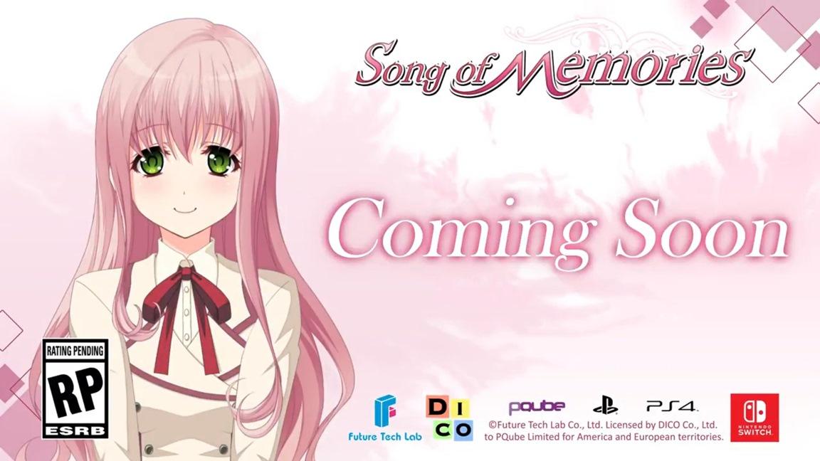 Futuro título de Switch, Song of Memories será localizado