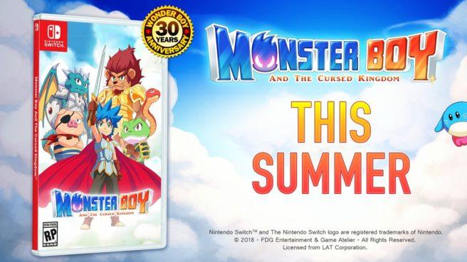 Futuro jogo de Switch, Monster Boy receberá mídia física