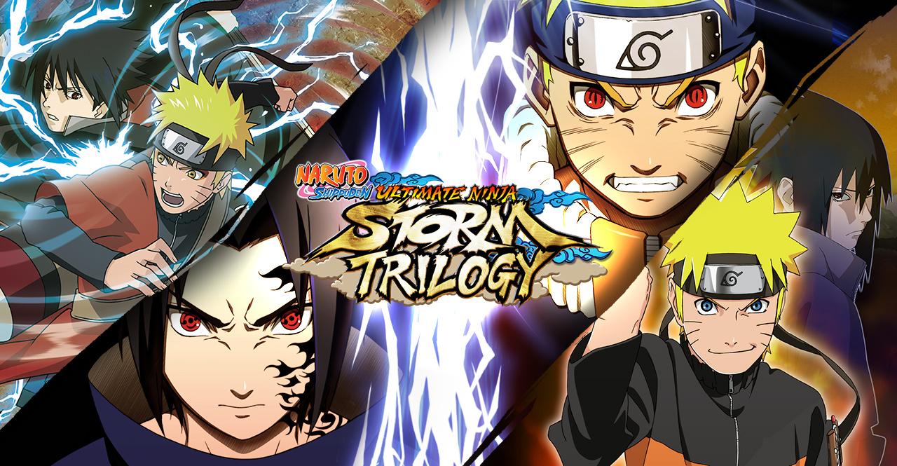 [Atualizado] Naruto Shippuden: Ultimate Ninja Storm Trilogy é oficialmente confirmado pra o Nintendo Switch