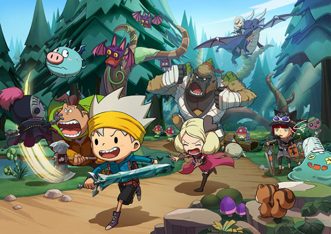 Futuro jogo de Switch, The Snack World: Trejarers Gold foi anunciado