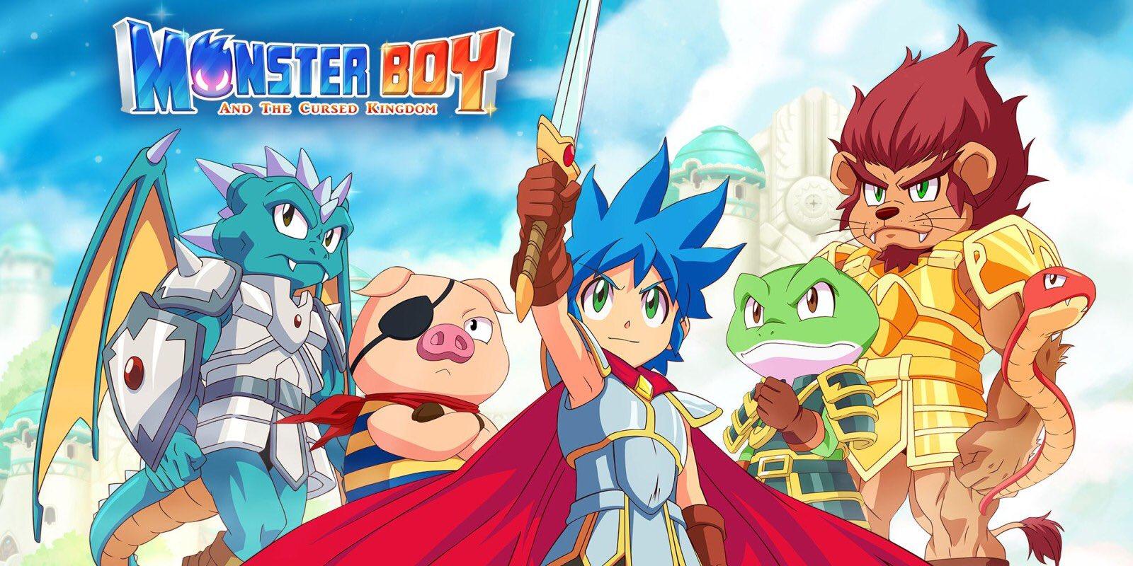 Pré-venda de Monster Boy and the Cursed Kingdom no Switch são 10 vezes maiores em relação ao PlayStation 4