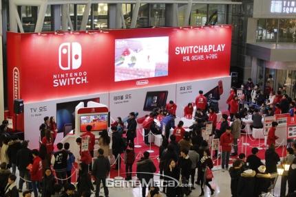 Daewon compartilha as vendas do Switch (Hardware e Software) na Coreia do Sul