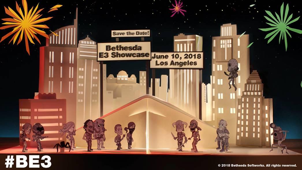Bethesda anunciou data e hora de sua conferência na E3 2018