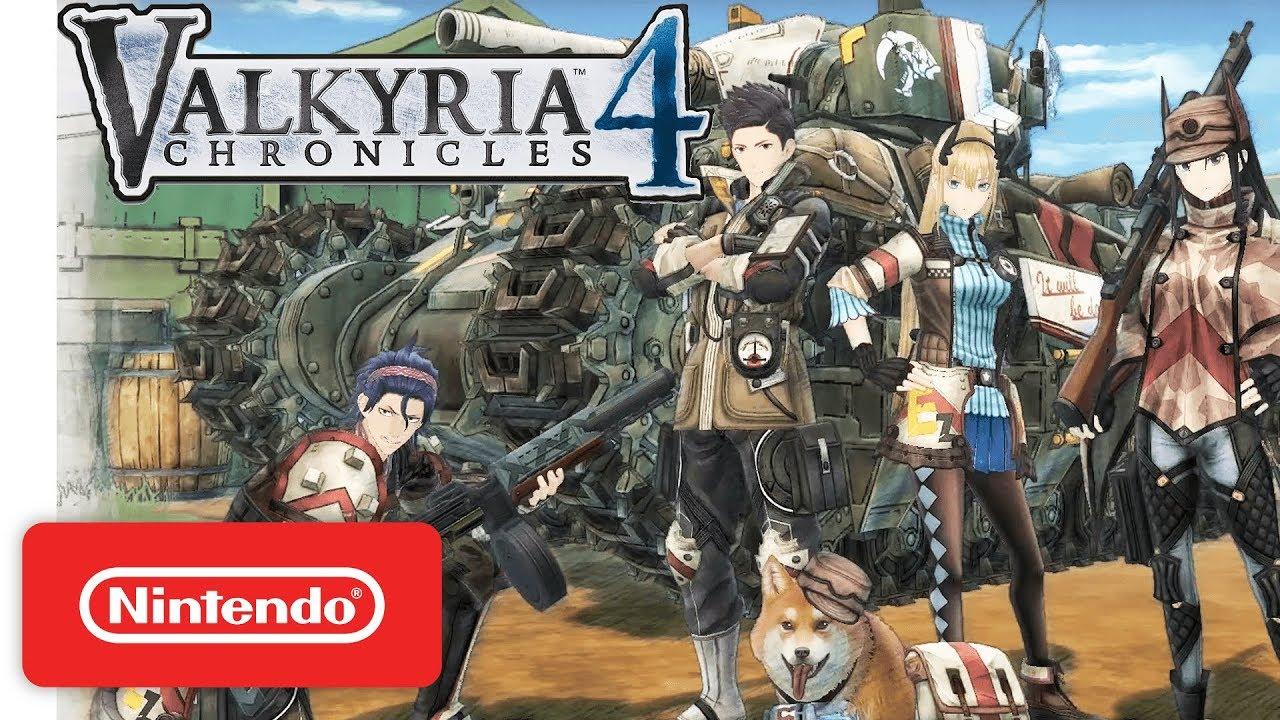 Valkyria Chronicles 4 para Switch chega durante o outono no ocidente